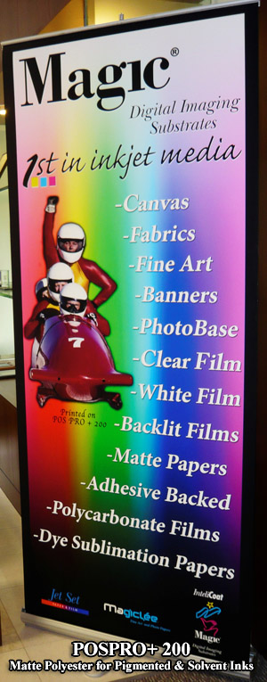 POSPRO+ 200 Polyester Film for pigment & solvent inks